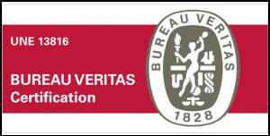 Certificación UNE 13816